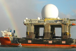SBX Radar USA - Pearl Harbour. Source: Defense Industry Daily