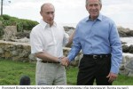 President of the Russian Federation Vladimir V. Putin with U.S. President, George W. Bush's ranch in the state of Maine. Source: www.whitehouse.gov