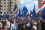 Chernobyl march in Minsk, 26 April 2008. Source: Radio Racyja