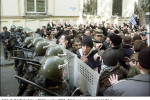 The protest action in Tbilisi in 2003. Source: www.novayagazeta.ru