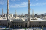 Mosque Masjid al-Nabawi, Medina, Saudi Arabia. Source: Wikipedia.org