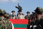 Igor Smirnov (center), Stanislav Chazhejev (left) and Valentin Varennikov (right). Source: www.nr2.ru