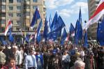 Chernobyl march in Minsk, 26 April 2008. Source: Radio Racyja