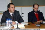 Ramush Haradinaj and Ibrahim Rugova