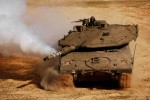 Israel's main battle tank Merkava IV. Source: http://www.armyrecognition.com