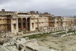 Lebanon, temple complex in Baalbek