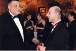 Ambassador of Georgia Nikoloz Nikolozishvili (right)